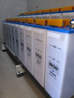 Ever Buy  Iron Edison recommends Nickel Iron (Ni-Fe) battery technology for your off-grid or renewable energy storage needs. Vastly out-lasting the 7 year life cycle of their lead-acid counterparts, Nickel-iron battery systems have an expected life of twenty five years or more and are quickly becoming the environmentally sensitive choice for off-grid and renewable energy storage applications.