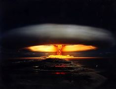 "The physicist Oppenheimer: ""I remembered the line from the Hindu scripture, the Bhagavad Gita... 'Now I am become Death, the destroyer of worlds.'"" -- Nuclear Explosions - I am become Death [34 Pics]"
