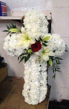 Funeral Floral Arrangements, Christmas Flower Arrangements, Artificial Flower Arrangements, Artificial Flowers, Funeral Sprays, Cross Wreath, Casket Sprays, Memorial Flowers, Cemetery Flowers