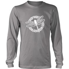 Celtic Dragonfly Unisex Long Sleeve Tee