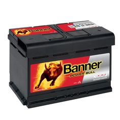 Autobaterie Banner Power Bull P74 12, 74Ah, 12V ( P7412 ) Banner, Outdoor Decor, Automobile, Banner Stands, Banners