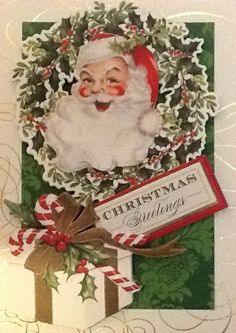 Made from Anna Griffin's Christmas Card kit