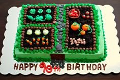 Garden cake by Snacky French