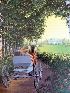"""Anne of Green Gables illustration/painting from """"The Anne of Green…"""