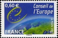 Stamp: European Council (France) (European Council) Yt:FR S136,Mi:FR CE63,Sn:FR…