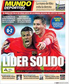 Portada Mundo Deportivo 15/03/2015