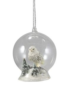 This Owl Globe Ornament is perfect! #zulilyfinds