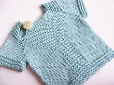 Bonny Knitting pattern by Yarn-Madness Knitting For Kids, Baby Knitting Patterns, Baby Patterns, Knitting Projects, Cardigan Pattern, Baby Cardigan, Baby Sweaters, Knit Crochet, Knitwear