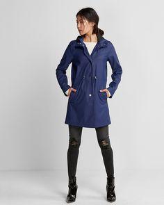 Drawstring Raincoat