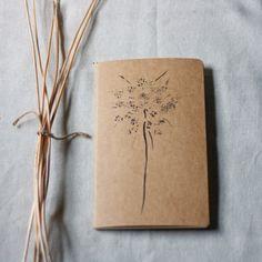 moleskine journal botanical original print queen by StudioBotanica