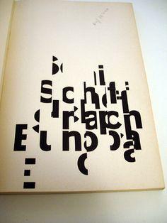 Schiff nach Europa –– Markus Kutter/Karl Gerstner 1957 by insect54, via Flickr