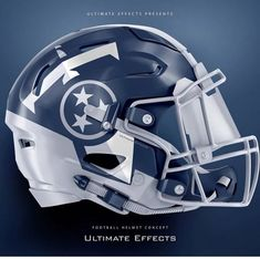 Football Helmet Design, College Football Helmets, Sports Helmet, Football Uniforms, Tennessee Titans Football, Minnesota Vikings Football, Pittsburgh Steelers, Dallas Cowboys, Nfl Football Teams