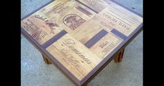 Wooden Wine Boxes & Wine Crates: The Top 11 Wine Crate Table Designs