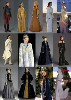 Birth name: Padme Naberrie, Official name for the Padme Amidala of Naboo (preceded by Sabe, Queen Amidala) Dress Code