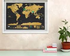 Image result for scratch map selfies
