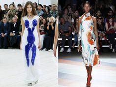Модные принты абстракция весна-лето 2017