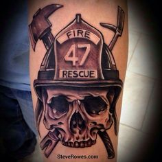 Firefighter tattoo