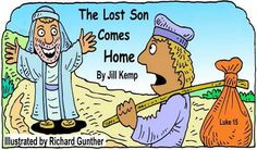 PDF storybook of the lost son for download. Nice pictures