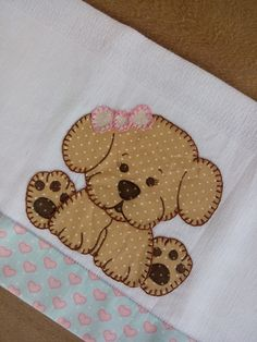 Baby Applique, Applique Quilt Patterns, Applique Templates, Applique Designs, Embroidery Applique, Machine Embroidery Designs, Dog Quilts, Animal Quilts, Quilt Baby