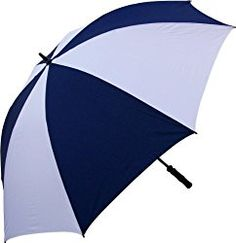 NEW 68 Inch Oversize Windproof Golf Umbrella Navy and White Golf Clubs For Beginners, Big Umbrella, Umbrellas For Sale, Golf R, Pet Mat, Golf Accessories, Golf Outfit, Ladies Golf, Golf Tips