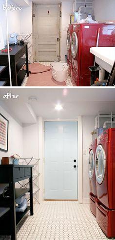 Unfinished Basement Bathroom Simple