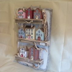 Driftwood house display made in February 2015