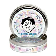 At Green Rainbow Revolution: Crazy Aaron's Thinking Putty // Limited Edition Holiday Colors // Christmas // Snow Angel