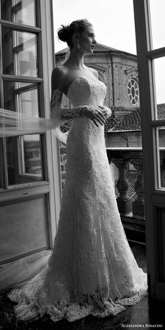 alessandra rinaudo bridal 2016 tianna strapless sweetheart lace wedding dress detached long sleeves -- Alessandra Rinaudo 2016 Wedding Dresses