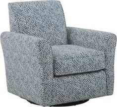Spring Blooms Accent Swivel Chair Rooms To Go Swivel Chair