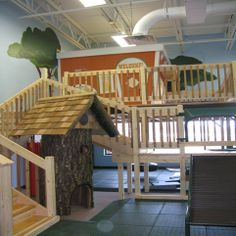 Ready Set Grow: Tree House Indoor playground: A place to get in out of the cold