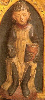 La statue du chevalier endormi du monastère de Wienhausen (1280-1290) Excalibur-Dauphiné :: Voir le sujet - Projet : Coat of plate.