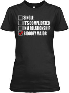 Limited Edition - Biology Major | Teespring