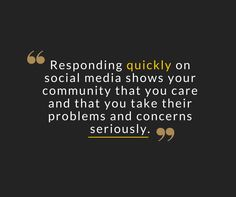 Your community expects a quick response on ‪#‎socialmedia‬. Show them you care by getting back to them quickly. ‪#‎Weblinkindia‬