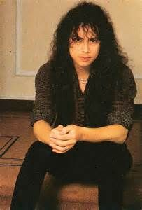 """A young Kirk Hammett from Metallica - he has a """"nice"""" look about him- love his hair- always better than mine!!"""