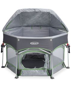 Bring the fun outdoors with the safety and security of the Graco Pack 'n Play…