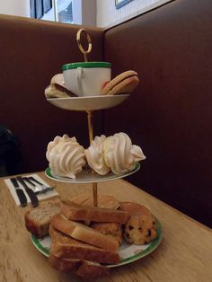 summers restaurant cake stand in Perth Scotland