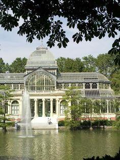 Palacio de cristal. Madrid