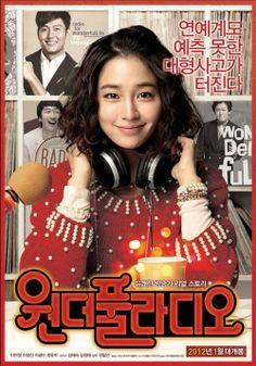 Wonderful Radio (Hangul: 원더풀 라디오; RR: Wondeopul Radio, also known as Love On-Air) #Korean #romantic #comedy #movie