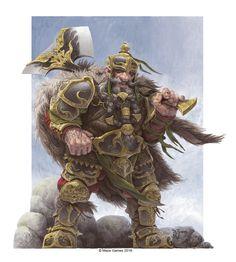 Dwarf King, Daniel Zrom on ArtStation at https://www.artstation.com/artwork/9l9wy
