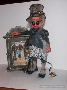 Маленький народец,эльфы-коротышки. / Изготовление авторских кукол своими руками…