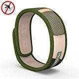 #5: Moskitito  Mosquito Repellent Bracelet with 4 FREE Refills  Best Travel Insect Repellent to kill Insects & Mosquitos. Natural Repellent safe for Babies