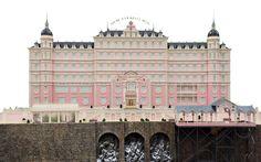 Transparent background Grand Budapest Hotel