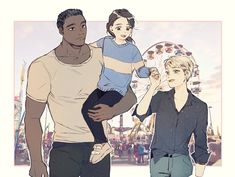 Detroit become human | DBH | Kara | Luther | Alice
