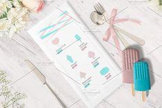Ice Cream Icons Pack by Nadezda Gudeleva on @creativemarket