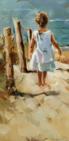 'Almost there', oil on panel, Dorus Brekelmans 2014