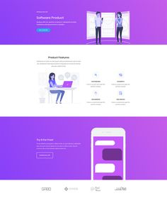 Software Marketing Layout - 140 Free Divi Layouts. Images and graphics included. 10% Off!