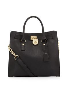 Probably never gonna have it, but a girl can dream :) V1KTK MICHAEL Michael Kors  Large Hamilton Saffiano Tote