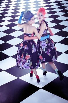 Shot by New York City-based fashion photographer Amber Gray, the Marie Claire China February 2012 editorial stars models Masha P and Anna I. Styled by Guillaume Boulez