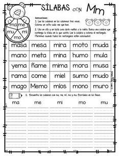 Yo aprendo las sílabas - Ruleta de palabras