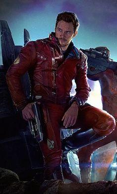 "Chris Pratt, or as I like to call him, ""Starlord""!"